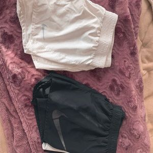 Bundle of two pairs of Nike dry fit shorts